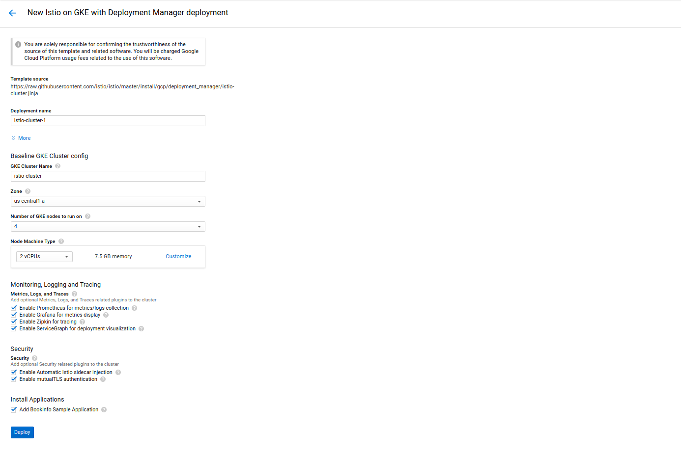 Istioldie 0 8 / Quick Start with Google Kubernetes Engine